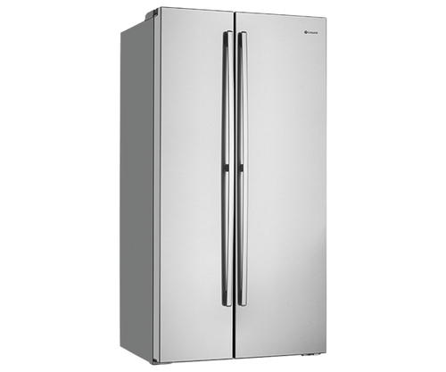 WESTINGHOUSE 620L STAINLESS STEEL SIDE BY SIDE FRIDGE - WSE6200SA