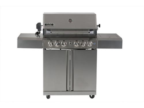 SMART 118CM FREESTANDING BBQ - 4 BURNER AND ROTISSERIE - 411W
