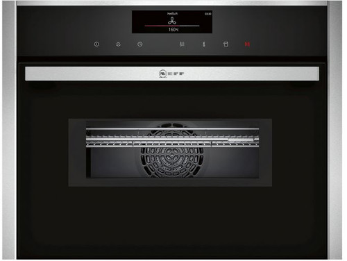 NEFF COMPACT PYROLYTIC COMBI MICROWAVE OVEN WITH VARIO STEAM - C28QT27N0