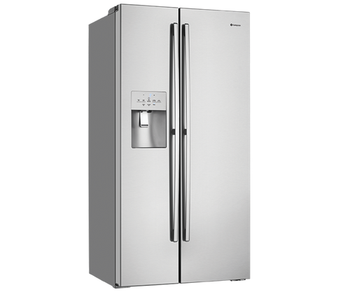 WESTINGHOUSE 610L STAINLESS STEEL SIDE BY SIDE FRIDGE - ICE AND WATER - WSE6170SA