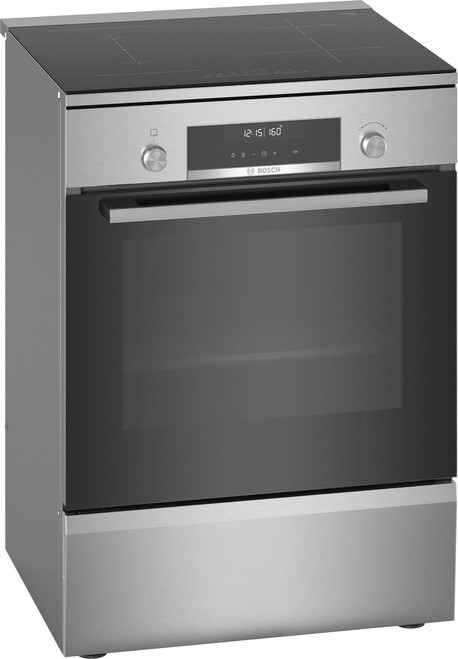 BOSCH 60CM INDUCTION COOKTOP FREESTANDING OVEN - SERIES 6 - HLS79R350A