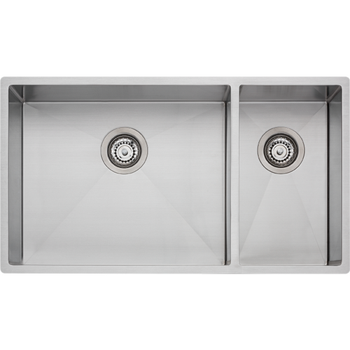 OLIVERI SPECTRA 1 & 1/2 BOWL SINK WITH ACCESSORIES - S/STEEL - SB35SS