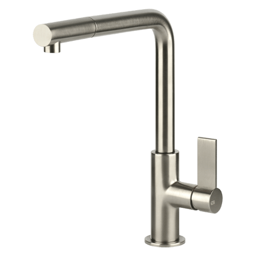 GESSI BRUSHED NICKEL EMPORIO PULLOUT TAP - 17053BN