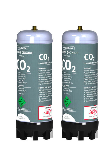 ZIP CO2 REPLACEMENT CANNISTERS (130 LITRES) - 91295