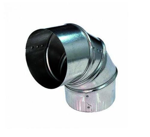 DEFLECTO 125mm ADJUSTABLE ELBOW - ELB059030