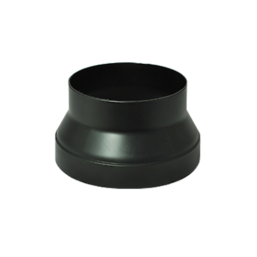 DEFLECTO PLASTIC 125 to 150mm DUCT REDUCER FOR ALL DUCTING TYPES - DR125/150