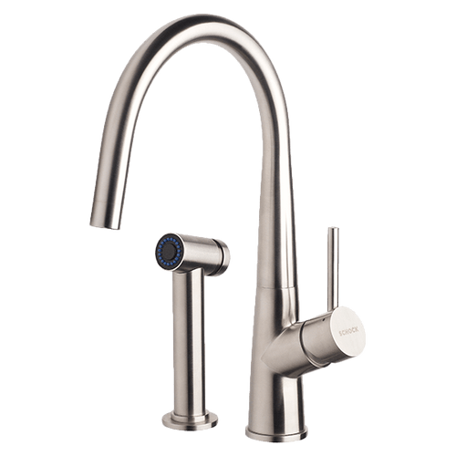 ABEY SCHOCK GOOSENECK TAP WITH PULLOUT SPRAY - 528006