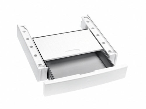 MIELE STACKING KIT WITH PULLOUT SHELF - TO SUIT MIELE W1 WASHER & T1 DRYER PAIRS - WTV 512