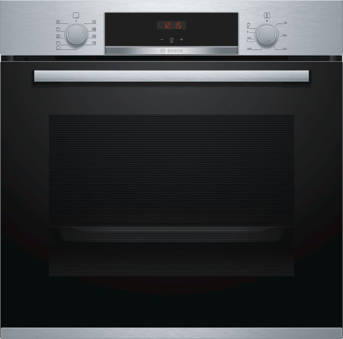 BOSCH 60CM STAINLESS STEEL OVEN - SERIES 4 - HBA534ES0A