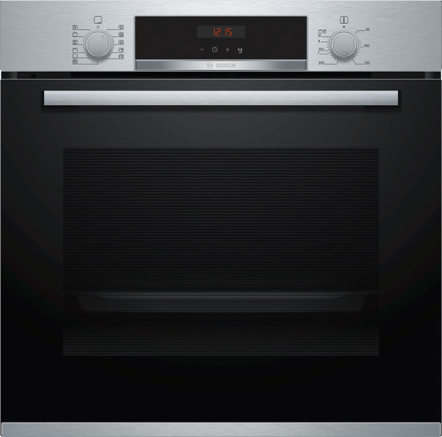 BOSCH 60CM STAINLESS STEEL PYROLYTIC OVEN - SERIES 4 -  HBA574BS0A