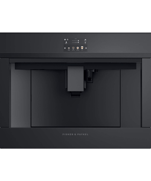 FISHER & PAYKEL 60CM BLACK  BUILT-IN  COFFEE MAKER - EB60DSXBB1