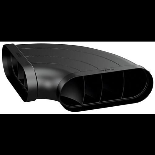 BORA ECOTUBE SHALLOW HORIZONTAL 90° BEND - EFBH90/1