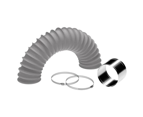 WHISPAIR 200mm FLEXI DUCTING EXTENSION KIT - INCLUDES DUCT,JOINER & CLAMPS - X1IK.200DUCT