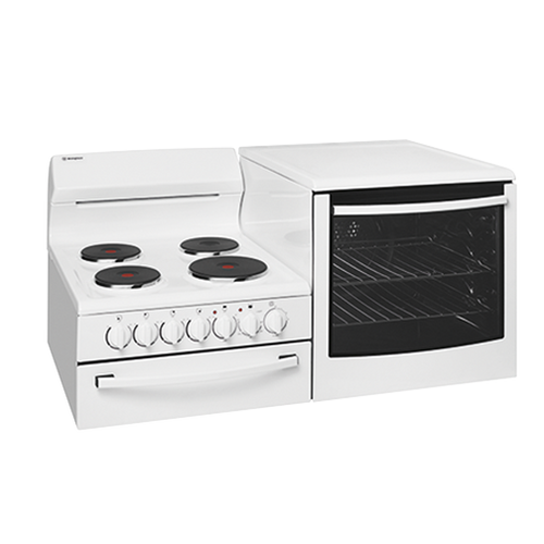 WESTINGHOUSE ELEVATED ELECTRIC FREESTANDING COOKER OVEN - WDE135WA