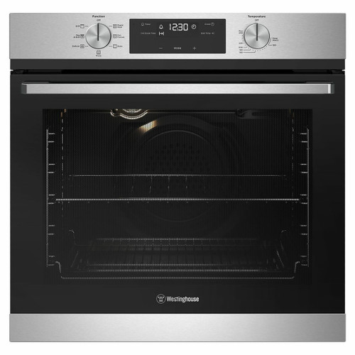 WESTINGHOUSE 60CM STAINLESS STEEL MULTI-FUNCTION OVEN - WVE615SC