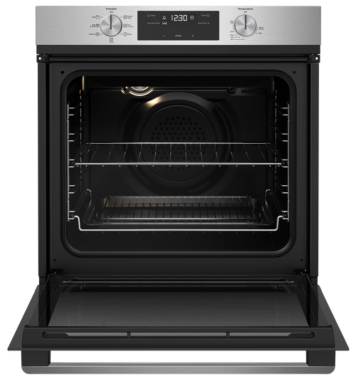WESTINGHOUSE 60CM STAINLESS STEEL MULTI-FUNCTION OVEN WITH AIRFRYER - WVE616SC