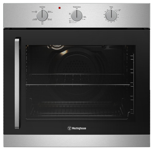 WESTINGHOUSE 60CM STAINLESS STEEL MULTI-FUNCTION OVEN - WVES613SC