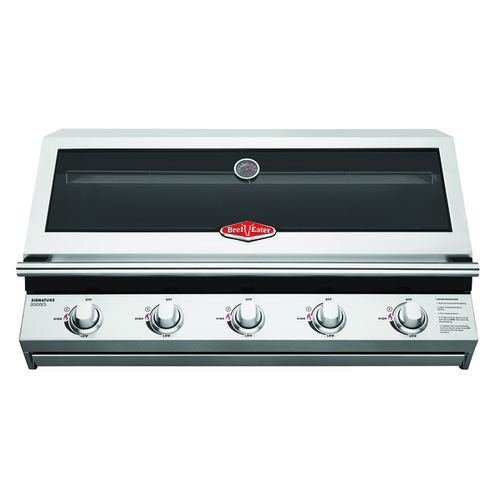 BEEFEATER BUILT IN SIGNATURE 5 BURNER BBQ - BSB2050SA