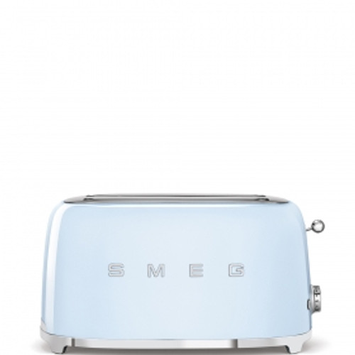 SMEG PASTEL BLUE RETRO STYLE  4 SLICE TOASTER - TSF02PBAU
