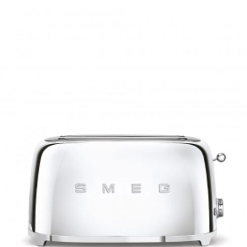 SMEG STAINLESS STEEL RETRO STYLE  4 SLICE TOASTER - TSF02SSAU