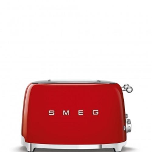 SMEG RED RETRO STYLE  4 SLICE EXTRA WIDE TOASTER - TSF03RDAU