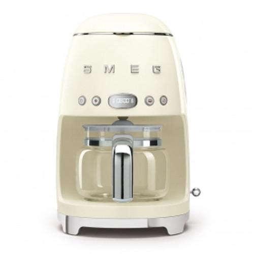 SMEG CREAM RETRO STYLE DRIP COFFEE MACHINE - DCF02CRAU