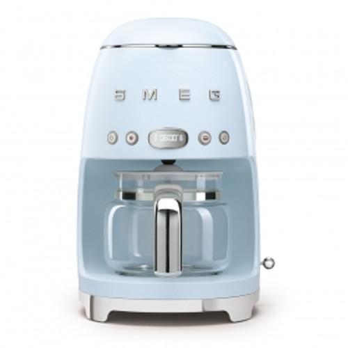 SMEG PASTEL BLUE RETRO STYLE DRIP COFFEE MACHINE - DCF02PBAU