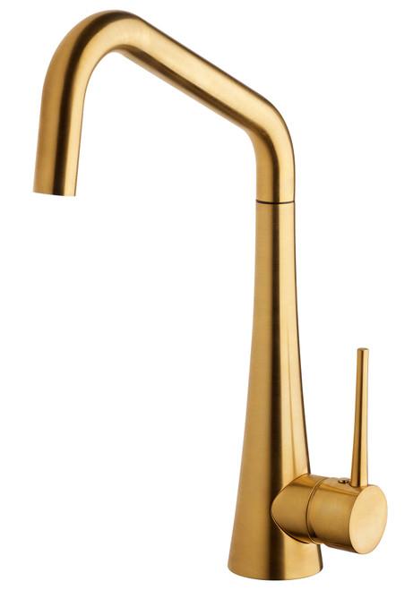 ARMANDO VICARIO TINK BRUSHED GOLD HIGH HEAD DESIGNER TAP - TINK-BG