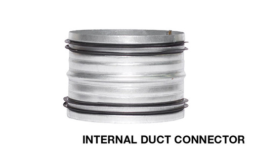SIRIUS STAINLESS STEEL 150mm INTERNAL DUCT CONNECTOR/JOINER  - GDC-150