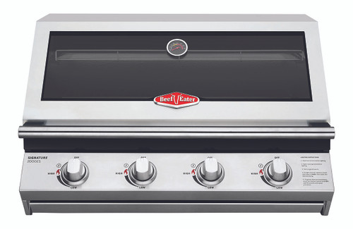 BEEFEATER BUILT IN SIGNATURE 2000 SERIES 4 BURNER BBQ - BSB2040SA