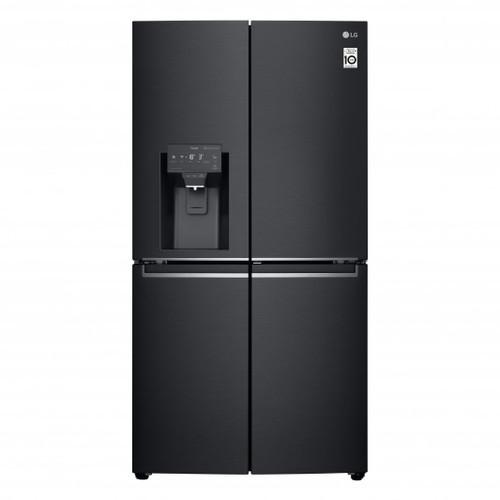 LG 706L MATTE BLACK FRENCH DOOR FRIDGE/FREEZER - ICE MAKER & WATER - GF-D706MBL