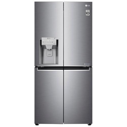 LG 570L STAINESS STEEL FRENCH DOOR FRIDGE/FREEZER - ICE MAKER & WATER - GF-L570PNL