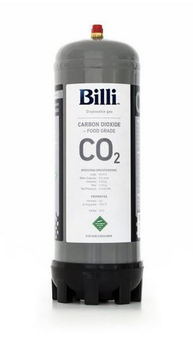 BILLI REPLACEMENT SPARKLING CO2 CYLINDER - 996911
