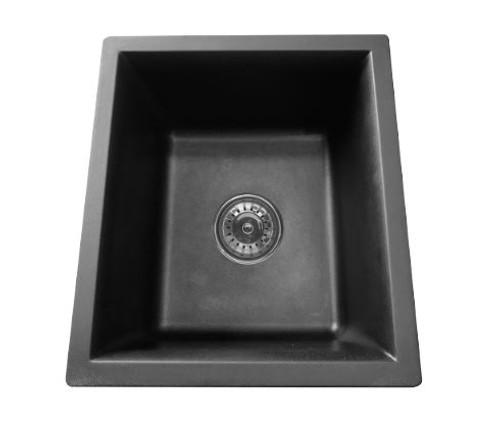 UPTOWN 355MM BLACK GRANITE SINK - GS395