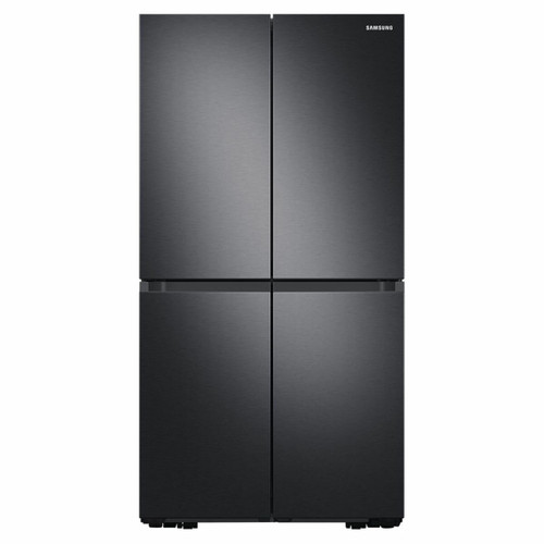 SAMSUNG 649L BLACK FRENCH DOOR FRIDGE WITH MOVEABLE ICEMAKER - SRF7100B