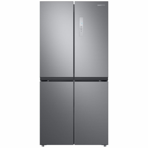 SAMSUNG 488L SILVER FRENCH DOOR FRIDGE WITH MOVEABLE ICEMAKER - SRF5500S