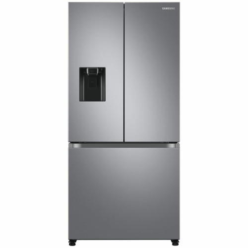 SAMSUNG 495L SILVER FRENCH DOOR FRIDGE WITH BUILT-IN WATER DISPENSER - SRF5300SD