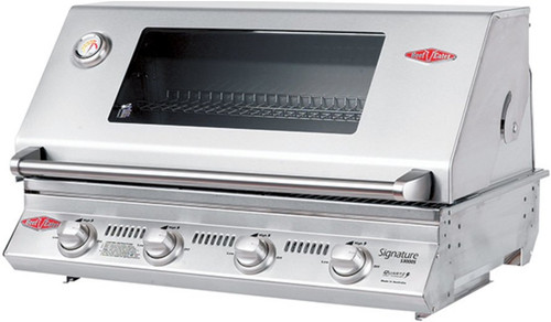 BEEFEATER BUILT IN SIGNATURE 3000SS 4 BURNER BBQ - BS12840S