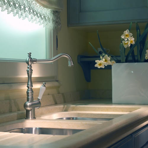 GESSI  ROMANCE PROVINCIAL STYLE BRUSHED NICKEL TAP - 08744BN - EX-DISPLAY*