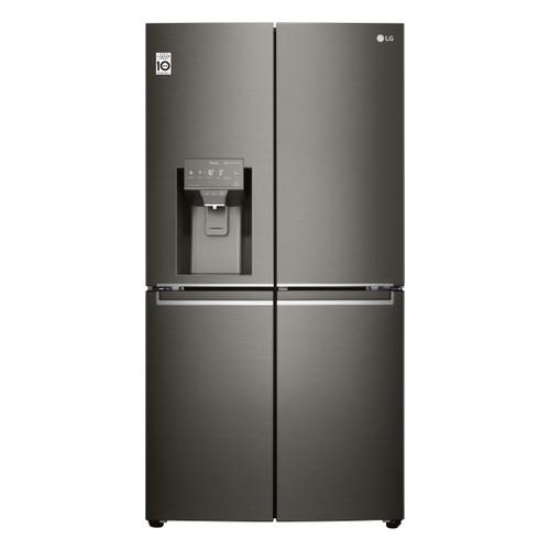 LG 637L BLACK STAINLESS FRENCH DOOR FRIDGE/FREEZER - ICE & WATER - GF-D706BSL