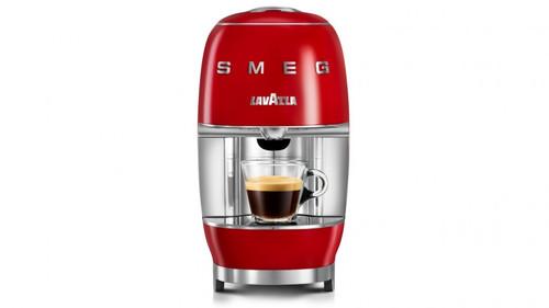 LAVAZZA A MODO MIO SMEG CAPSULE COFFEE MACHINE - RED - 18000458