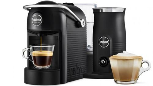 LAVAZZA A MODO MIO JOLIE & MILK CAPSULE COFFEE MACHINE - BLACK - 18000218