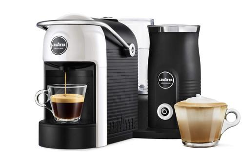 LAVAZZA A MODO MIO JOLIE & MILK CAPSULE COFFEE MACHINE - WHITE - 18000230