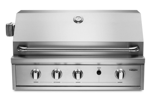 """CAPITAL 36"""" PROGRILL BUILT IN OPEN GRILL BBQ WITH SOLID FLAT PLATE - PRO36RBI N/L"""
