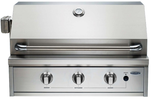 """CAPITAL 32"""" PROGRILL BUILT IN OPEN GRILL BBQ WITH SOLID FLAT PLATE - PRO32RBI N/L"""