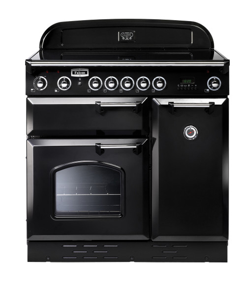FALCON 90CM CLASSIC FREESTANDING OVEN WITH INDUCTION COOKTOP - SPLIT OVENS - CLA90EI5 + Colour