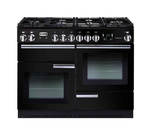 FALCON 110CM PROFESSIONAL DUAL FUEL FREESTANDING OVEN - PROP110DF  (Black or Stainless)