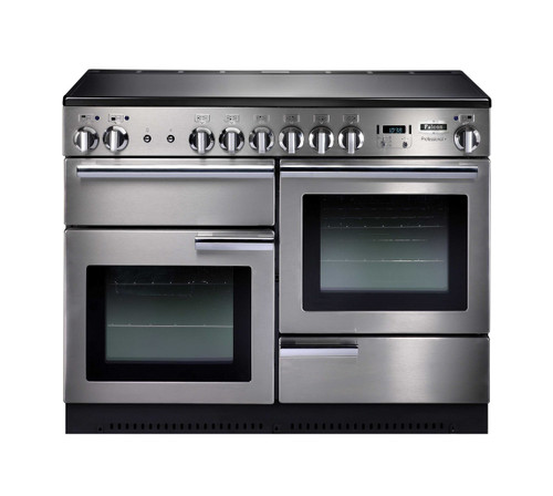FALCON 110CM PROFESSIONAL FREESTANDING OVEN WITH INDUCTION COOKTOP - PROP110EI5 (Black or Stainless)