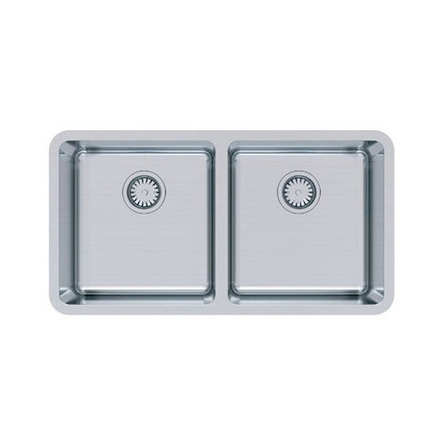 ABEY LAGO UNDERMOUNT DOUBLE BOWL SINK WITH ACCESSORIES - LG200U