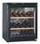 LIEBHERR BARRIQUE 63 BOTTLE BLACK SINGLE ZONE WINE CELLAR - WKb 1712